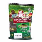 Прикормка Биоприкорм Крупный Лещ черный цвет 1,1кг