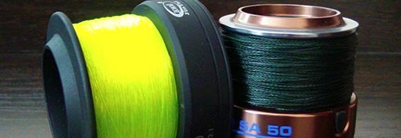 Рыболовные леска и шнуры