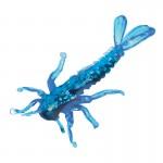 Силиконовая приманка Microkiller поденка 30 синий флюо