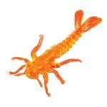Силиконовая приманка Microkiller поденка 30 оранжевый флюо