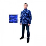 Кофта SevereLand Fish Island Camo Navy