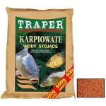 Прикормка Traper Karpiowate wody biezace 2,5+0,5кг