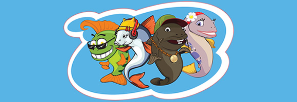 Рыболовные товары для детей
