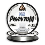 Леска Asama Phantom Ice Steel Gray
