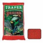 Прикормка Traper Sekret Feeder czerwony 1,0кг