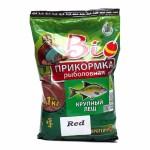 Прикормка Биоприкорм Крупный Лещ красный цвет 1,1кг