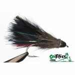 Муха ScientificFly Marabou Muddler Black CG 8565107 #08